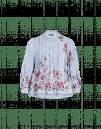 INTRICATE: Camicia ampia con motivo floreale