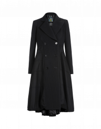 GUIDELINE: Full skirted overcoat in twill and flannel