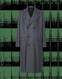 IN BALANCE: Cappotto spigato blu