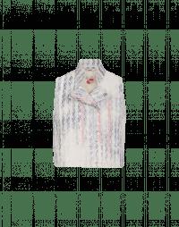DESERVE: Gilet doppio petto stampato