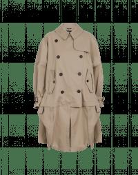 WINDWARD: Hi-Lo hitched-up trench coat