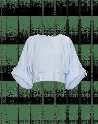 ENTHUSE: Camicia rigata con ampie maniche dolman