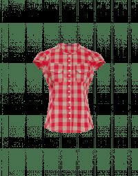 DUO: Camicia a quadri rossi e beige scuro