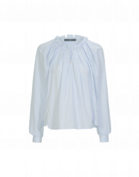 FLUTTER: Camicia rigata con maniche raglan
