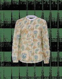 COMBO: Camicia con stampa floreale e pieghe