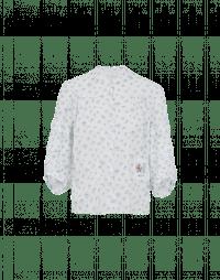 POEM: Camicia in cotone con motivo floreale
