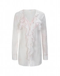FLORETTE: Pale pink pleasures shirt