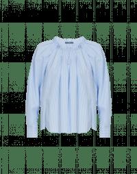 FLUTTER: Camicia con pieghe e maniche raglan