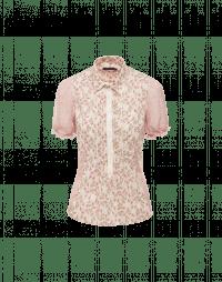 IN-FAVOUR: Camicia in cotone e voile con stampa a fiori rosa