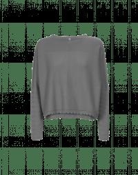 SUBTLE: Maglia in cashmere grigio