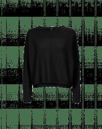 SUBTLE: Maglia in cashmere nero