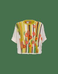 ASTOUND: Maglia a maniche corte con motivo floreale