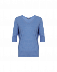 REMIND: Short sleeve sweater in sky blue