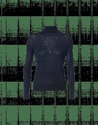 SEEK OUT: Maglioncino a collo alto blu navy