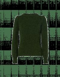 BOAST: Maglioncino verde bosco girocollo