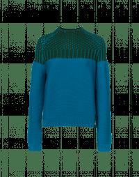 OPTIMAL: Two-tone sweater