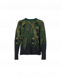 UNDERWORLD: Leaf pattern sweater