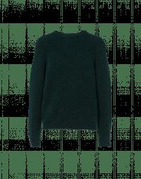 PLAYER: Maglioncino girocollo verde muschio