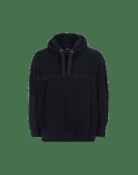 GRAVITAS: Oversize wool effect sweatshirt