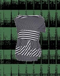 JOSTLE: T-shirt con costruzione asimmetrica