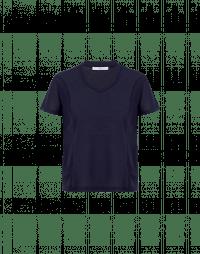 TOUCH: T-shirt blu navy a maniche corte