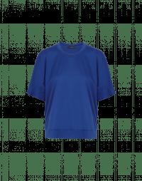 PERSONA: T-shirt sagomata in cotone blu