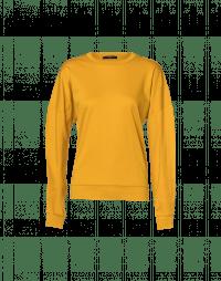 MOMENTARY: Long sleeve t-shirt saffron cotton jersey