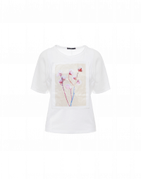 ARTEFACT: T-shirt con stampa fotografica frontale