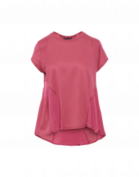 DAY-TO-DAY: T-shirt multi pannello color rosa cipria