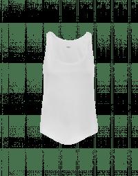 IMPERATIVE: Canotta bianca in jersey