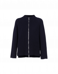 CENTRAL: Knitted zip front cardigan
