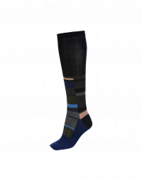 TRUANT: Patchwork rib and pattern sock