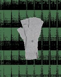 OATH: Guanti grigio chiaro senza dita