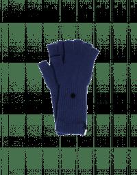OATH: Guanti blu marina senza dita