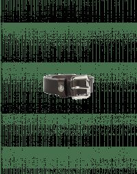 CANTER: Cintura in pelle marrone scuro