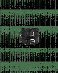 FINITE: Cintura alta con doppia fibbia