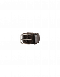 CAPTIVE: Cintura in pelle intrecciata