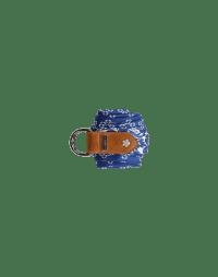 TRANSFIX: Cintura a cravatta a fantasia blu e avorio