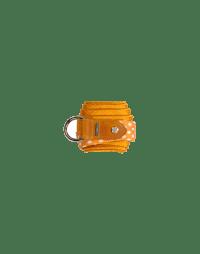 TRANSFIX: Cintura a cravatta a fantasia arancio e avorio