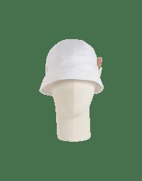 ENDORSE: Cappello da pescatore in twill bianco
