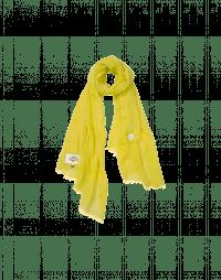 HANKER: Sciarpa leggera oversize gialla