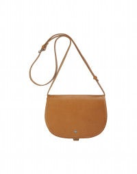 LOOT: Tan leather shoulder bag