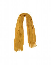 EQUINOX: Mustard ultra sized wool blanket scarf