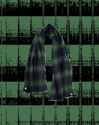 KILTER: Sciarpa scozzese blu, verde e bianca