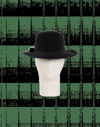 DRIFTER: Cappello grigio scuro in feltro di coniglio