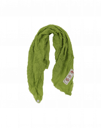 DRAFT: Scarf in green wool with cashmere