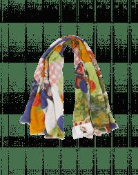INVENTIVE: Sciarpa con stampa effetto patchwork