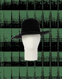 BRIMFUL: Cappello in feltro nero