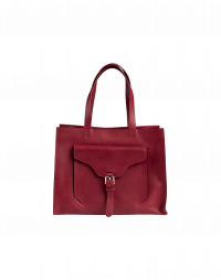 RETRIEVE: Burgundy leather