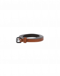 ENDURE: Narrow tan leather belt